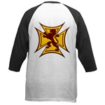 Royal Scottish Biker Cross Baseball Jersey