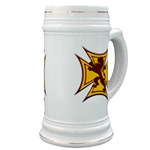 Royal Scottish Biker Cross Beer Stein