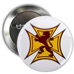 Royal Scottish Biker Cross Button