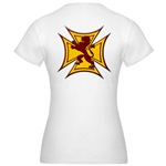 Royal Scottish Biker Cross Jr. Jersey T-Shirt