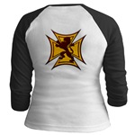 Royal Scottish Biker Cross Jr. Raglan