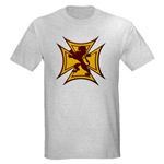 Royal Scottish Biker Cross Light T-Shirt