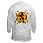 Royal Scottish Biker Cross Long Sleeve T-Shirt