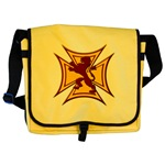 Royal Scottish Biker Cross Messenger Bag