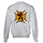 Royal Scottish Biker Cross Sweatshirt