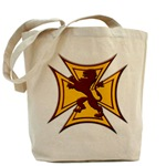 Royal Scottish Biker Cross Tote Bag