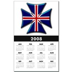 British Biker Cross Calendar Print