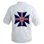 British Biker Cross Golf Shirt