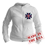 British Biker Cross Jr. Hoodie