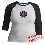 British Biker Cross Jr. Raglan