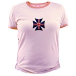 British Biker Cross Jr. Ringer T-Shirt