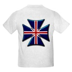 British Biker Cross Kids Light T-Shirt