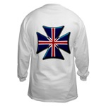 British Biker Cross Long Sleeve T-Shirt