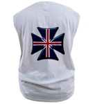British Biker Cross Men's Sleeveless Tee