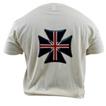 British Biker Cross Organic Cotton Tee
