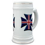 British Biker Cross Stein
