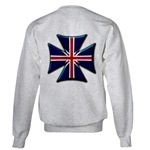 British Biker Cross Sweatshirt