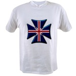 British Biker Cross Value T-shirt