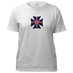 British Biker Cross Women's T-Shirt